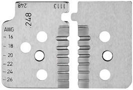 Комплект запасных ножей для  KNIPEX KN-121914