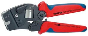 Обжимные клещи KNIPEX для контактных гильз, самонастраивающиеся KN-975309