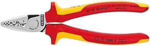 Пресс-клещи KNIPEX для обжима контактных гильз диэлектрический KN-9778180