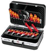 Набор инструмента 20 предмета для электромонтажа, в чемодане KNIPEX KN-002120