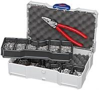 Набор кабельных наконечников с инструментом для опрессовки KNIPEX KN-979005