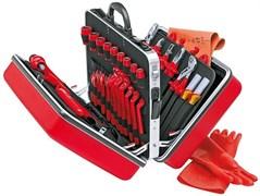 Набор диэлектрического инструмента в чемодане, 48 предметов KNIPEX KN-989914