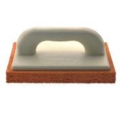 Терка штукатурная с твердой губкой, 14х28 см, пластик.ручка Kapriol 23072