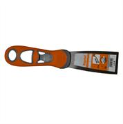 Шпатель полужесткий 40 мм, закал., ручка Progrip Kapriol 23144