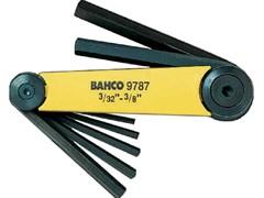 Набор шестигранников (дюйм.) Bahco BE-9787