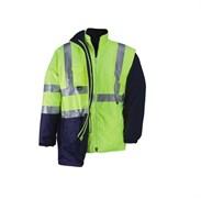 Куртка PARKA HV 5, XXXL, цвет желтый с синими вст Kapriol 31089