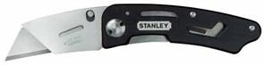 Нож складной лезвие трапеция Stanley 0-10-855