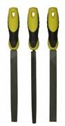 Набор из 3-х напильников 200 мм плоский, полукруглый, трехгранный Stanley 0-22-464