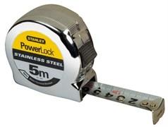 Рулетка Powerlock 5 м. с лентой из нержавеющей стали Stanley 0-33-299