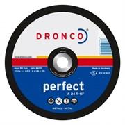 Отрезной круг по металлу A 24 R150х3х22,23 DRONCO 1150015