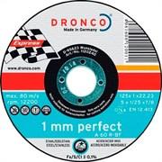 Отрезной круг по металлу A 60 R 125х1х22,23 DRONCO 1120240