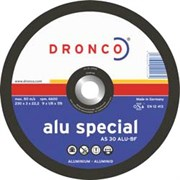 Отрезной круг по металлу AS 30 ALU 230х3х22,23 DRONCO 1231165