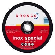 Обдирочный круг AS 30 S Inox 125х6х22,23 DRONCO 3126540