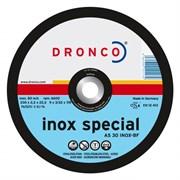 Отрезной круг по металлу AS 30 Inox 230х2,5х22,23 DRONCO 1231906