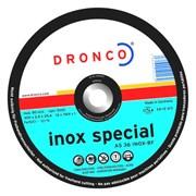 Отрезной круг по металлу AS 36 Inox 300х2,8х22,23 DRONCO 2300920