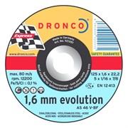 Отрезной круг по металлу AS 46 V 125х1,6х22,23 DRONCO 1121251