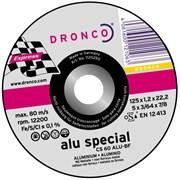 Отрезной круг по металлу CS 60 Alu 125х1,2х22,23 DRONCO 1121150