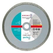 Алмазный отрезной круг Perfect GRF 230х22,23 DRONCO 4230510