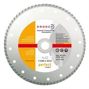 Алмазный отрезной круг Turbo F 115х22,23 DRONCO 4110460