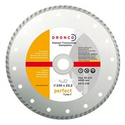 Алмазный отрезной круг Turbo F 230х22,23 DRONCO 4230460