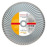 Алмазный отрезной круг Turbo W 230х22,23 DRONCO 4230385