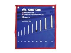 Набор выколоток 9 пр. KING TONY 1009PRN