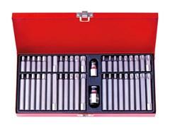 Набор битов 10 мм в ассортименте, 44 пр. KING TONY 1044CQ