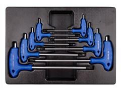 Набор L-образных ключей HEX в лотке 8 пр. KING TONY 9-22108MR