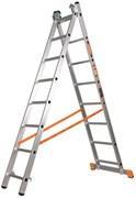 Двухсекционная лестница Эйфель Премьер 2х6