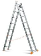 Двухсекционная лестница Эйфель Премьер 2х9