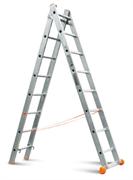 Двухсекционная лестница Эйфель Премьер 2х14