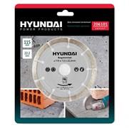 Диск Hyundai алмазный, отрезной Hyundai 206101