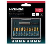 Набор бит PH-PZ-SL/11 шт Hyundai 203901