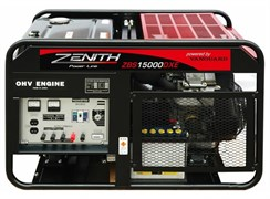 Бензиновый генератор Zenith ZBS15000DXE