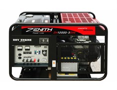 Бензиновый генератор Zenith ZH12000 3DXE