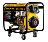 Дизельный генератор Champion DG6500E-3
