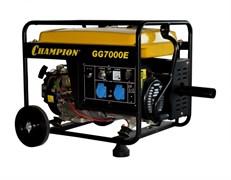 Бензиновый генератор Champion GG7000E ATS