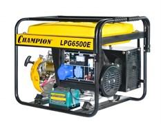 Бензиновый газовый генератор Champion LPG6500E