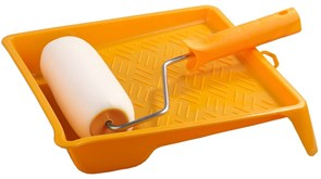 Малярный набор Stayer валик с ванночкой 180мм 2-05438-18
