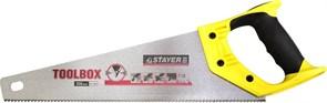 Ножовка по дереву Stayer Toollbox 10TPI/350мм 2-15091-45