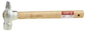 Слесарный молоток ЗУБР Эксперт оцинкованный, деревянная ручка, 400г 4-20017-04