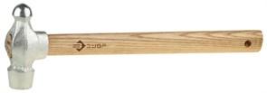 Слесарный молоток ЗУБР Эксперт оцинкованный, деревянная ручка, 400г 4-20023-04