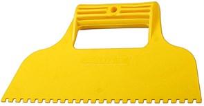 Зубчатый шпатель Stayer пластиковый 230мм 8х8 1022-8