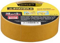 Монтажная лента Stayer Profi на полипропиленовой основе, 38мм, 5м 1221-38-05