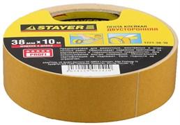 Монтажная лента Stayer Profi на полипропиленовой основе, 38мм, 10м 1221-38-10