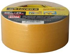 Монтажная лента Stayer Profi на полипропиленовой основе, 50мм, 25м 1221-50-25