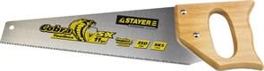 Ножовка по дереву Stayer Cobra Toolbox 11TPI/350мм 1515-35