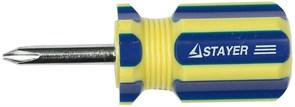Отвертка со сменным жалом Stayer Master SL6/PH2 70мм 2511