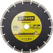 "Отрезной диск Stayer ""MASTER"" алмазный, сегментный 130мм 3660-230_z01"