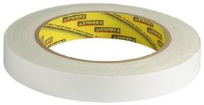Двусторонняя лента Stayer Profi на вспененной основе, 19мм, 5м 12231-19-05